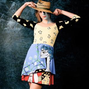 Originální šaty Pablo Picasso 6bbe513d94